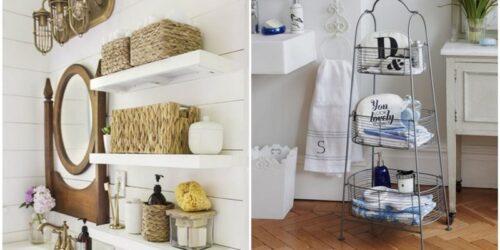 Υπέροχες ιδέες για να οργανώσετε το μπάνιο σας